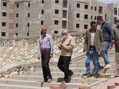 الإسكان: 75٪ نسبة إنجاز 134 عمارة بمشروع عمارات مدينة السلام للسكن البديل