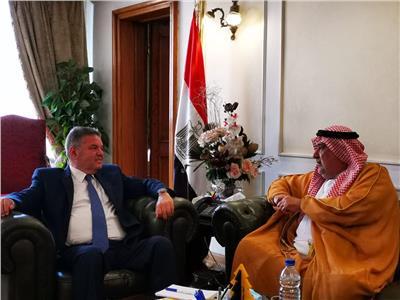 وزير قطاع الأعمال يبحث التعاون مع رئيس الاتحاد العربي للتطوير العقاري