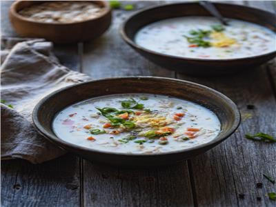 مطبخ رمضان   شوربة الشوفان بالكريمة ابدأي بها إفطارك