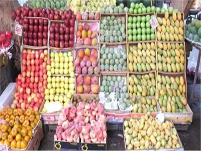 أسعار الفاكهة في سوق العبور برابع أيام شهر رمضان الكريم