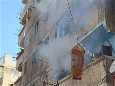 اندلاع حريق في منزل بمغاغة بالمنيا بسبب ماس كهربائي