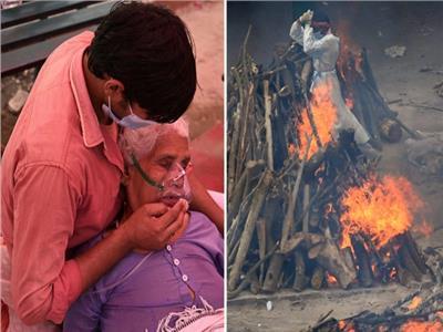 الهند تصل لأسوأ سيناريوهات كورونا.. مليون وفاة بحلول يوليو| صور