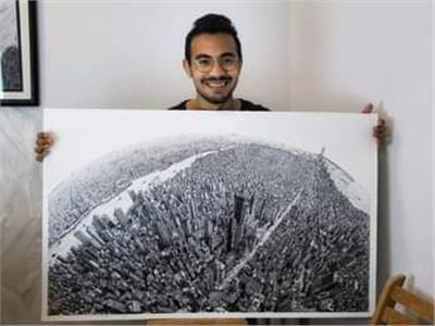 حكايات  «إنك بأعيننا».. لوحات فنية لمسلمين وأقباط دفاعا عن النبي محمد