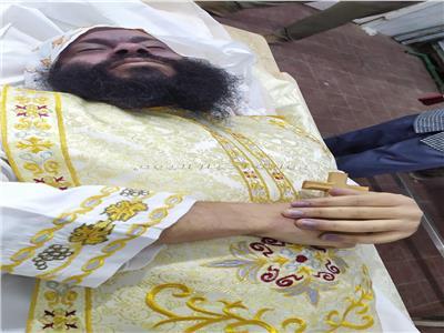 بعد إعدامه.. ننشر أول صورة للراهب أشعيا المقاري