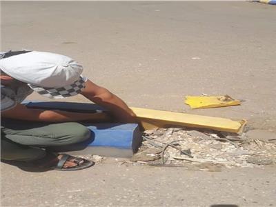 إصلاح البلدوراتالتالفة بميداني 30 يونيو وعدلي منصور في المنوفية