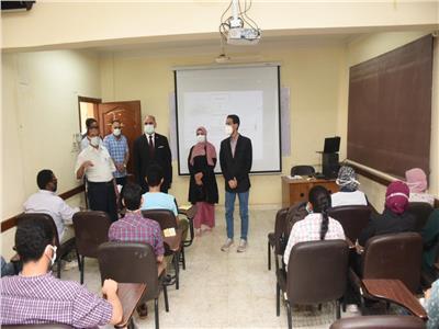غرفة عزل لكل كلية بجامعة الأقصر أثناء الإمتحانات
