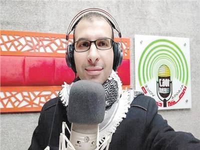 استشهاد مذيع فلسطينى فى القصف