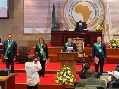 راندا مصطفى ممثلة عن مصر في برلمان عموم أفريقيا
