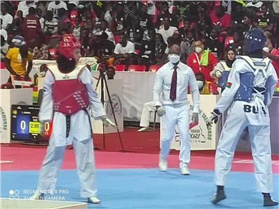 هداية ملاك تتأهل لنصف نهائي بطولة إفريقيا للتايكوندو