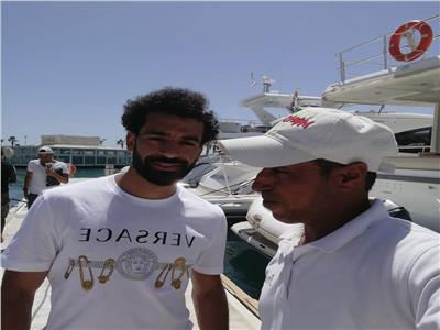 ننشر كواليس رحلة محمد صلاح البحرية في مدينة الجونة   صور