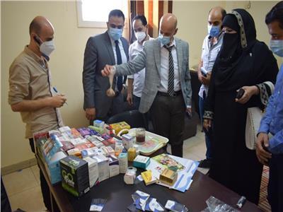 ضبط مصنعلتصنيع وتعبئة الأدوية المغشوشة بالعاشر من رمضان