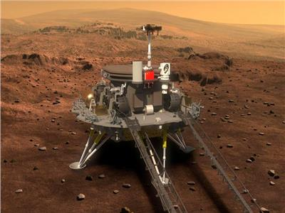 الروبوت الصيني «زورونج» يخلد آثاره على الكوكب الأحمر بصورة | فيديو