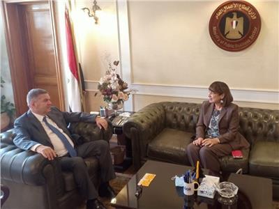 وزير قطاع الأعمال العام يستقبل المنسق المقيم للأمم المتحدة في مصر