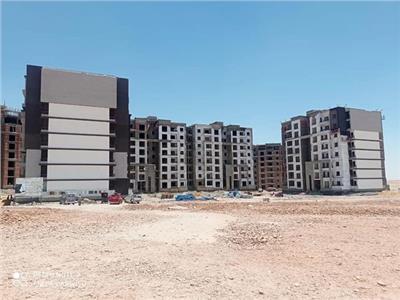 «الإسكان»: بدء تشطيب 1024 وحدة بعمارات «JANNA» بملوي الجديدة