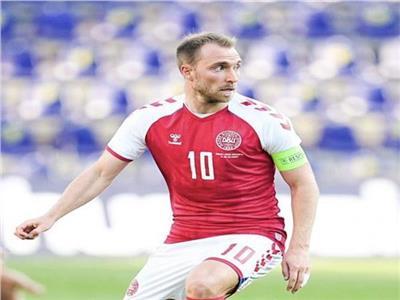 """مدرب الدنمارك : """"إريكسن"""" سيرتدي قميصه ويشاهد مباراة بلجيكا"""