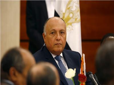 وزير الخارجية: مصر مستمرة في جهودها لإعادة ليبيا إلى الاستقرار