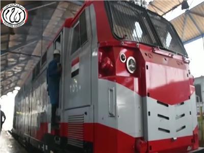 في 12 نقطة.. رحلة صيانة الجرارات الأمريكية بورش السكة الحديد| فيديو