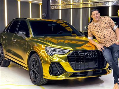 حمو بيكا يطلي سيارته بالذهب عيار 24 | صورة