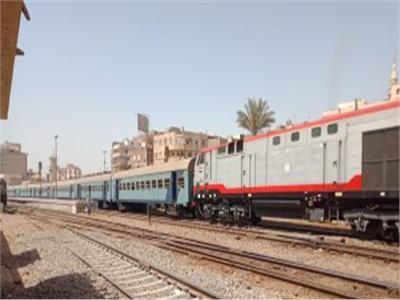 حركة القطارات| 40 دقيقة متوسط تأخيرات خط «القاهرة-الإسكندرية»