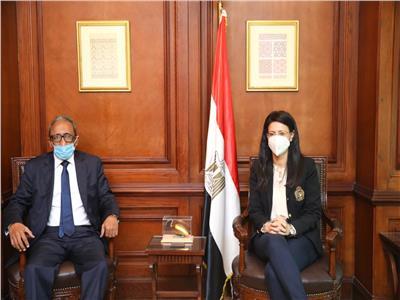 وزيرة التعاون الدولي تلتقي الأمين العام الجديد لمجلس الوحدة الاقتصادية العربية