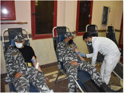 «الداخلية» تنظم حملة تبرعات بالدم لصالح المرضى بجنوب سيناء