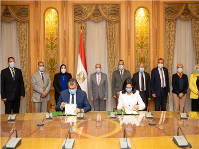 توقيع بروتوكول تعاون بين «الإنتاج الحربي» والمجلس القومي للمرأة
