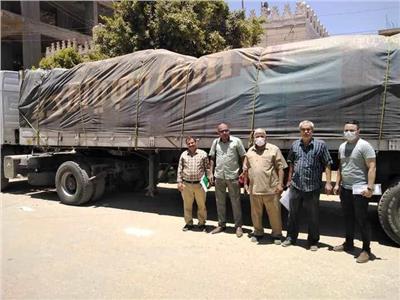 مصادرة 35 طن أرز فاسد و421 كيلو لحوم غير صالحة للاستهلاك بسوهاج