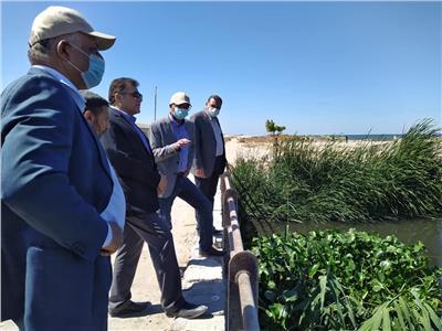 نائب وزير الإسكان يتفقد خدمات مياه الشرب والصرف بالإسكندرية
