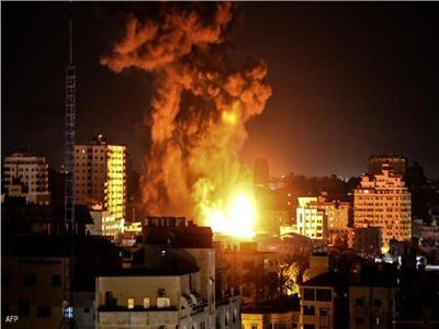 غارات إسرائيلية على مواقع فلسطينية في قطاع غزة