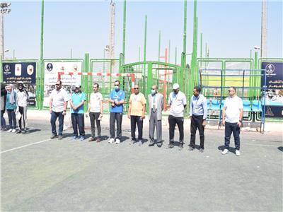 انطلاق معسكر التربية الرياضية بجامعة سوهاج بمشاركة ٩٥٤ طالبًا وطالبة