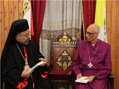 بطريرك الأقباط الكاثوليك يستقبل رئيس أساقفة إقليم الإسكندرية للكنيسة الأسقفية الجديد