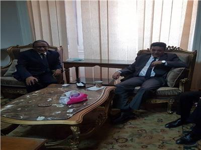 وزير الاقتصاد الليبي يبحث تعزيز التعاون مع مجلس الوحدة الاقتصادية العربية