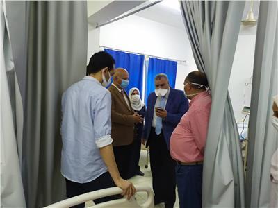 وكيل صحة الغربية يوجه ببدء العمل بالعيادات الخارجيةواستقبال المرضى