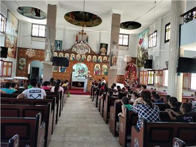«التطويبات رسالة فرح» على مائدة كنيسة مار جرجس بمنسافيس
