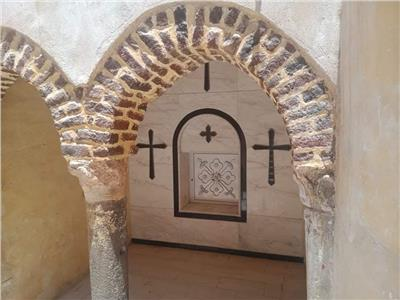 حكايات  كنيسة القباب ذات الطراز «البيزنطي».. هنا عاش الأنبا ديمتريوس الثاني
