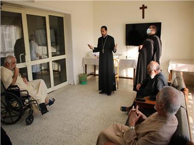 الأنبا باخوم يزور دار القديس إسطفانوس في المعادي