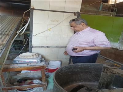 ضبط ٤٧٩ مخبز بلدي مخالف خلال حملات تموينية بالبحيرة