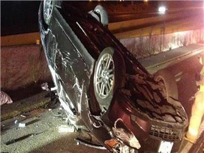مصرع وإصابة 4 أشخاصفى انقلاب سيارةبسوهاج