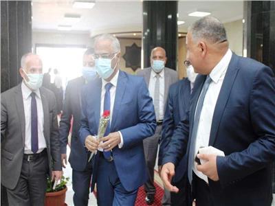 رئيس جامعة بورسعيد يشارك فى الاجتماع الدورى للمجلس الأعلى للجامعات