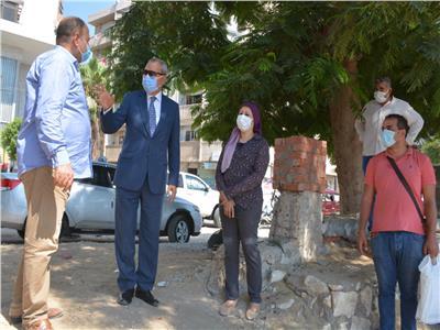 محافظ القليوبية يتفقد أعمال تطوير ميدان المحطة بمدينة بنها