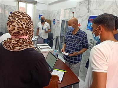 بدء استخراج شهادات التطعيم بلقاح كورونامن ٨ مستشفيات ومراكز ومكاتب صحية بالشرقية
