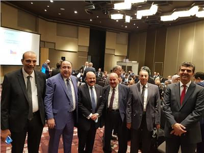 رئيس الغرفة التجارية بالبحيرة يشارك في منتدى الاقتصاد المصري التشيكي