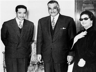 جمال عبدالناصر رئيسًا لمصر وسوريا.. وفنانون: زعيم مدى الحياة