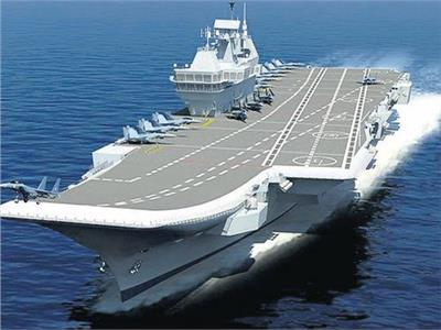 الهند تختبر حاملة طائرات «فيكرانت»
