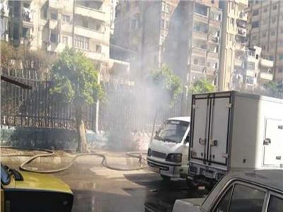 حفظ التحقيقات في حريق موقف سرفيس أحمد حلمي