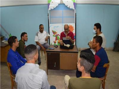 ثقافة المنيا تقدم ورشة إعداد ممثل مسرحي   صور