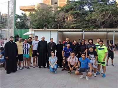 ختام المسابقة الرياضية من المهرجان الإيبارشي وزيارة نيافة الأنبا باخوم
