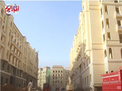 «جهاز العاصمة»: 98% نسبة الإنجاز بالهيكل الخرساني فى حي جاردن سيتى.. فيديو