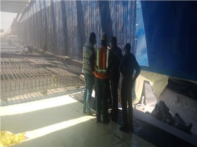 رئيس جهاز 6 أكتوبر يتابع سير العمل بمشروع أعمال المونوريل