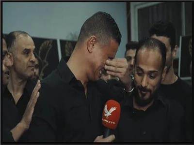 دموع لاعبي الأهلي في «وداع» سعد سمير بعد إعارته.. فيديو